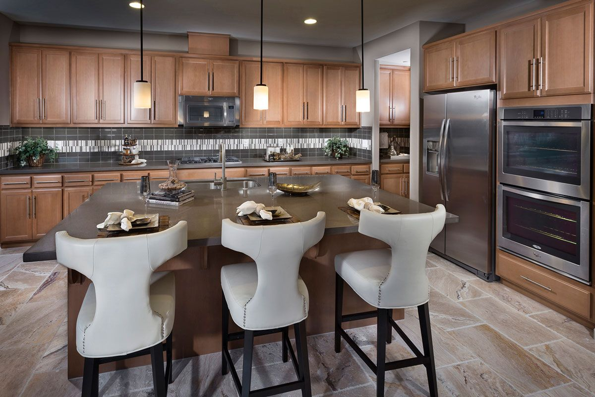 Modern Kitchen Design Dublin The Heights At Positano A Kb Home Community In Dublin Ca