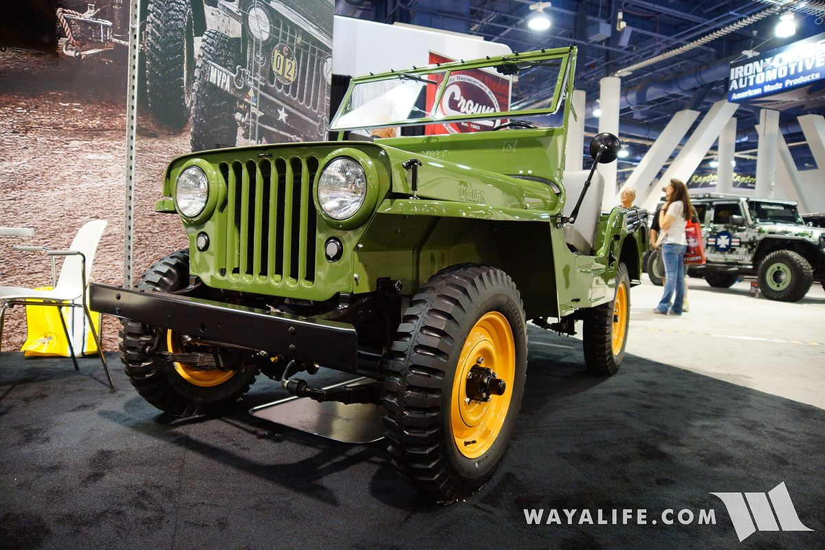 2016 Sema Crown Willys Cj2a Willys Willys Jeep Jeep Parts
