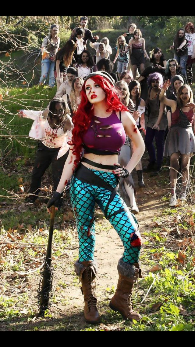 Zombie Apocalypse Ariel  Cosplay  Pinterest  Cosplay. Living Room Sets Under 500. Target Living Room Tables. Dining Room Flooring. Table Decoration. Floor Decorative Vases. Room Decore. Computer Room Air Conditioning. Whimsical Outdoor Decor
