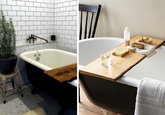 Taking a bath with bath reading tray   Bath board, Bath and Trays