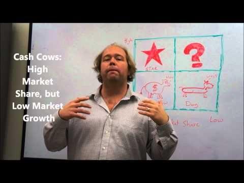 Portfolio Analysis Explained - The BCG Matrix - YouTube