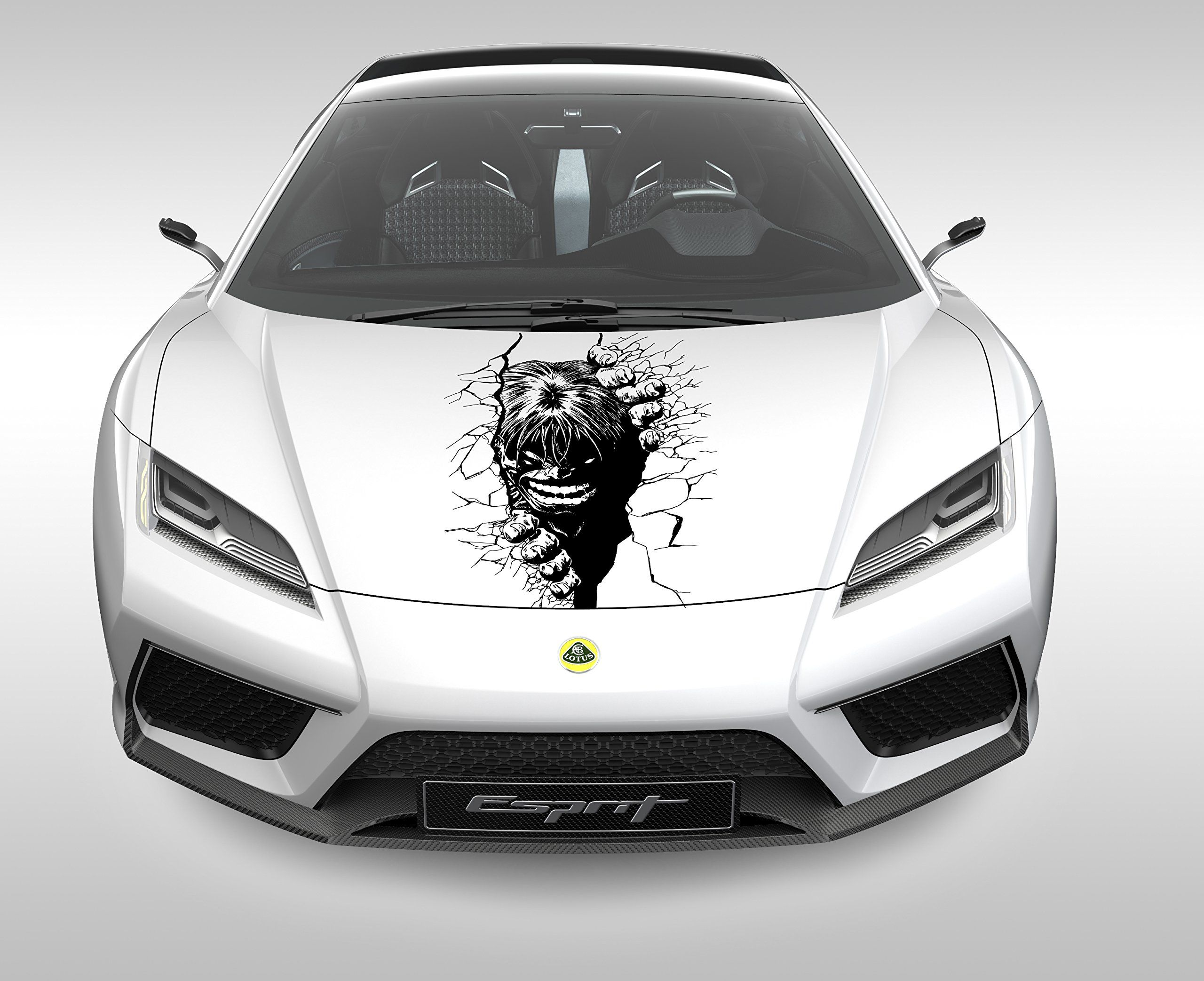 Hulk Decal You Can Find Out More Details At The Link Of The Image Affiliate Link Car Stickers Car Decals Exterior Accessories [ 2085 x 2560 Pixel ]
