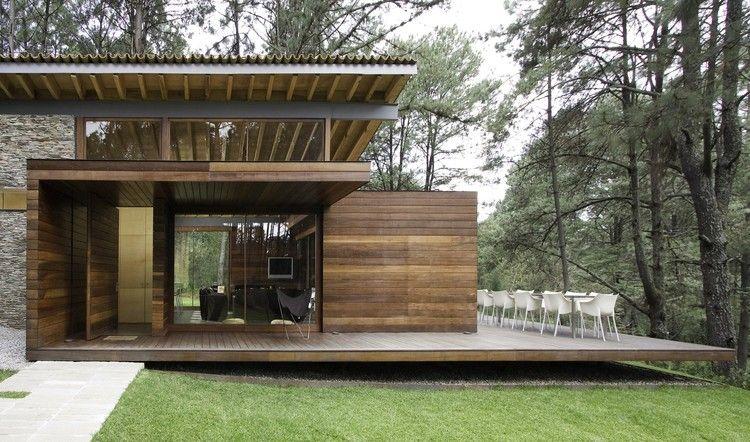Galer a de casa ro tapalpa el as rizo arquitectos 6 vivienda maison maison moderne y - Casas prefabricadas guadalajara ...