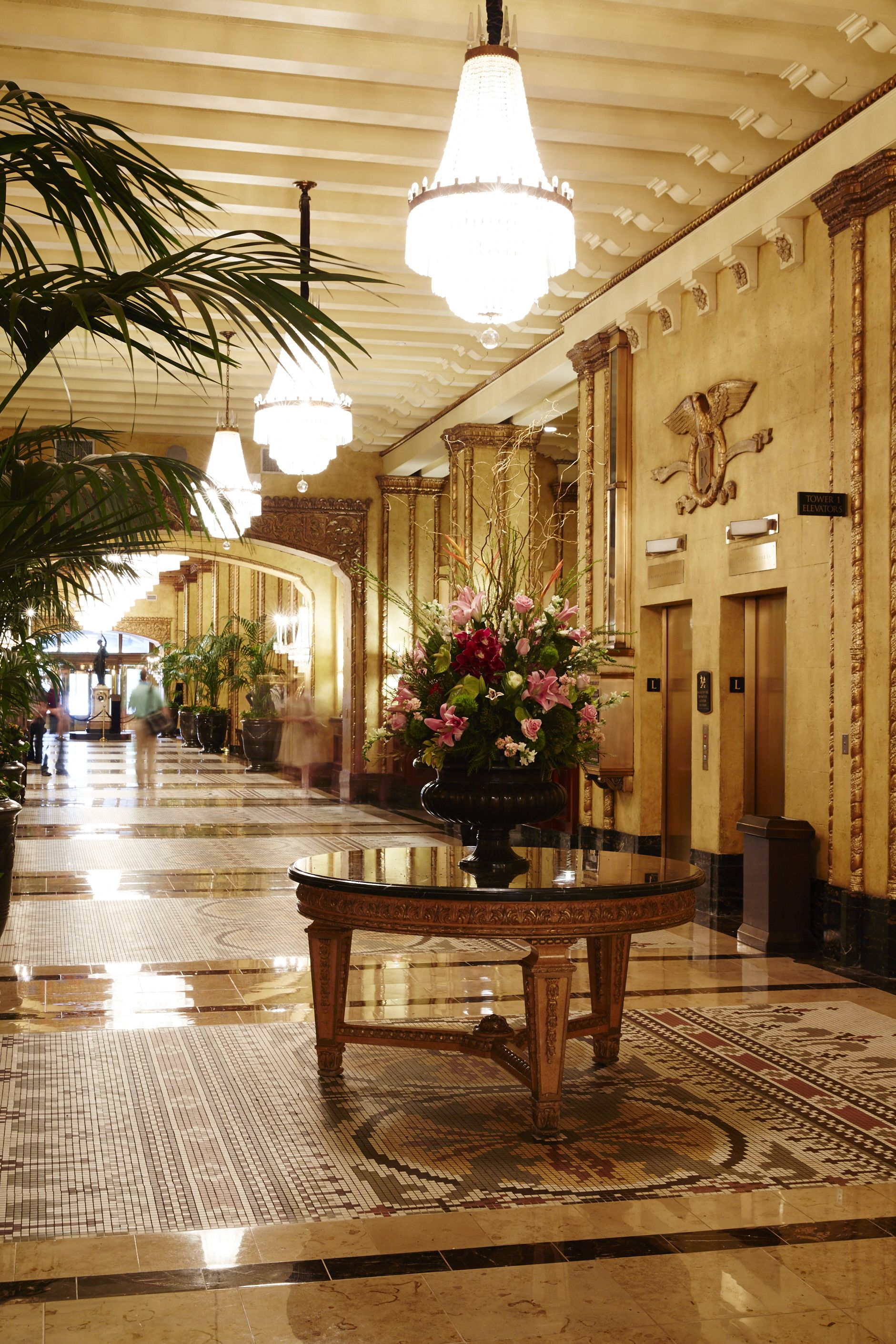 The Chefs Take A Tour Of The The Roosevelt New Orleans And