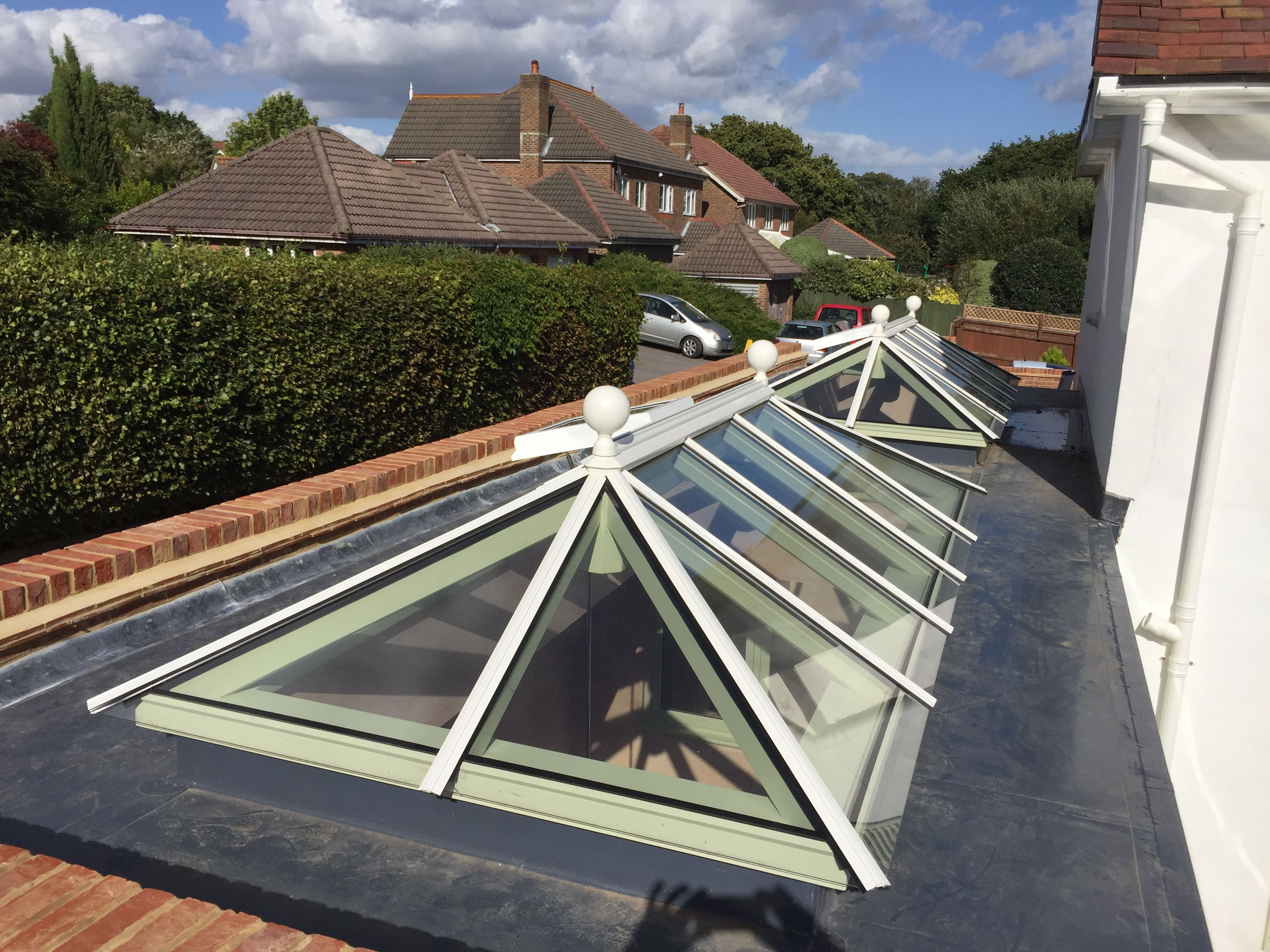 Timber Roof Lantern French Doors And Windows Timber Roof Roof Architecture Roof Lantern
