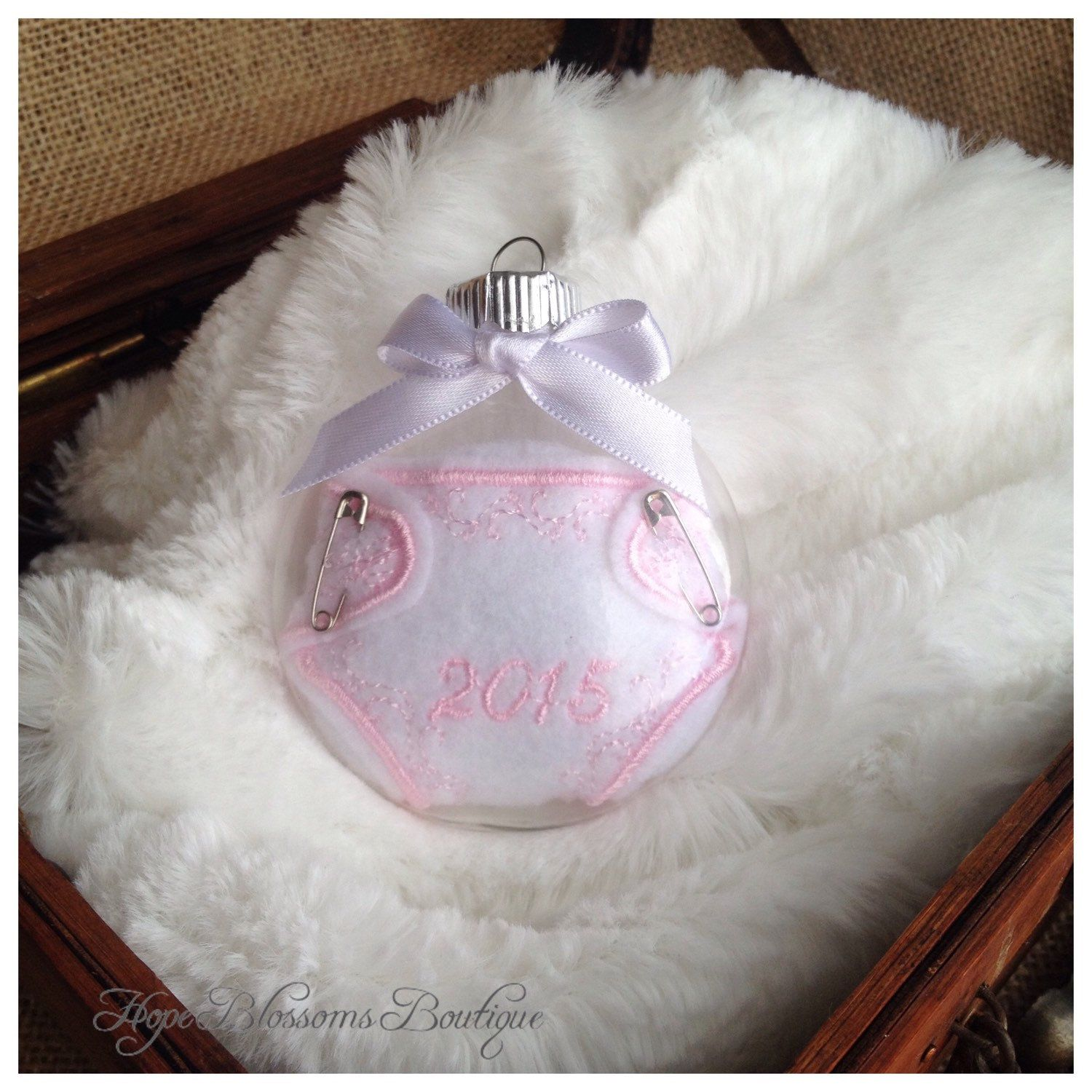 New baby christmas ornament - Baby Girl First Christmas Ornament 2016 Baby Christmas Ornament Baby Girl Ornament Babys First Christmas Ornament New Baby Ornament
