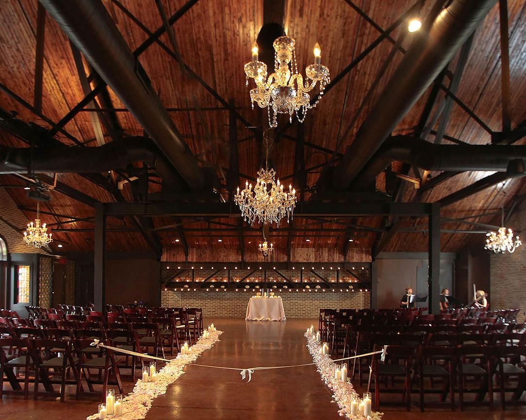 A Stunning Wedding Ceremony On The Second Floor At CANAL