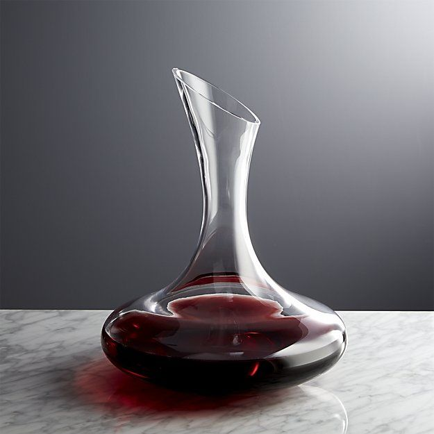 Swoon Wine Decanter Reviews Crate And Barrel Wine Carafe Decanter Wine Aerators