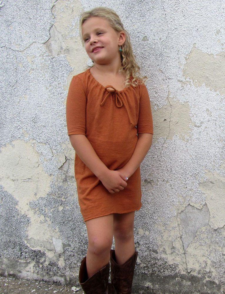 Gaia Conceptions Organic Clothing - Girls - Drawstring Collar Short Dress, $110.00 (http://www.gaiaconceptions.com/girls-drawstring-collar-short-dress/)
