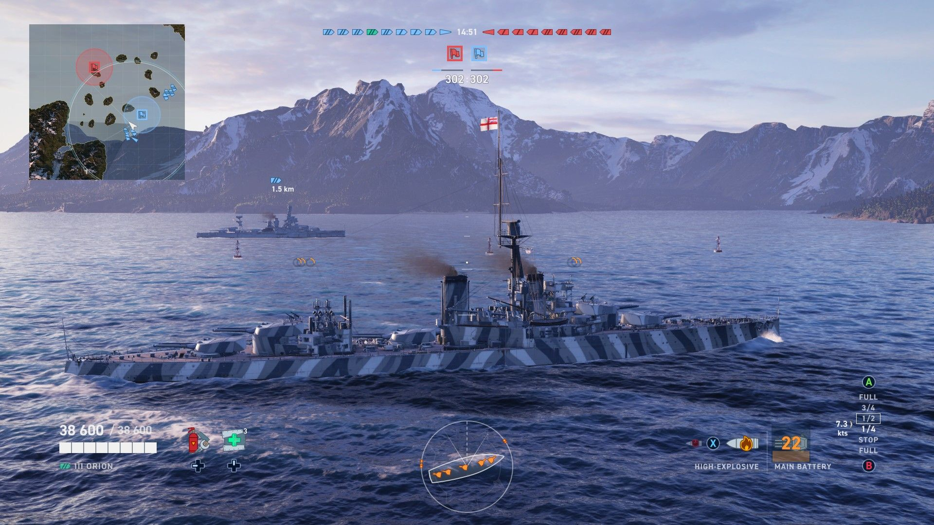World of Warships Legends - Xbox One - EINRIB13 - UK tier 3