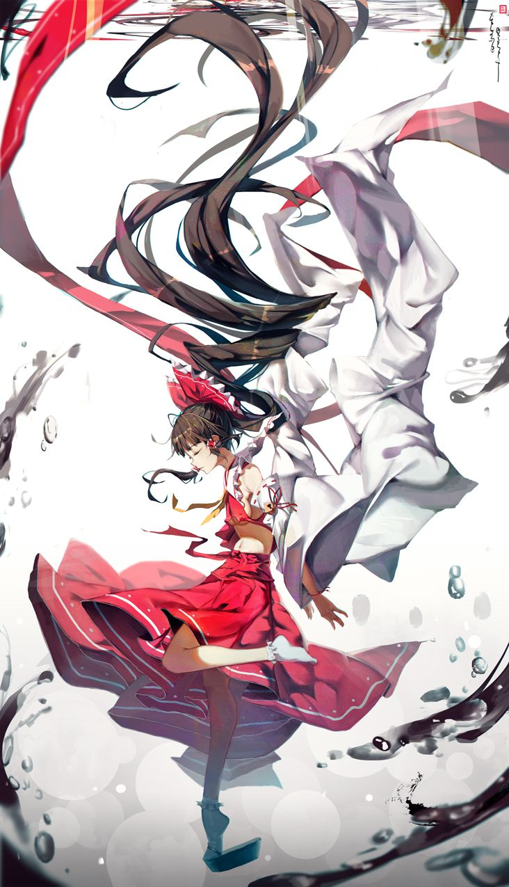 Hakurei Reimutouhou By Soulkiller Fantasy 霊夢 イラスト