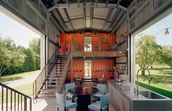 This House Doesn T Even Make You Decide Whether You Want To Be Outdoors Or In 23 Surprisingl Container House Plans Container House Building A Container Home