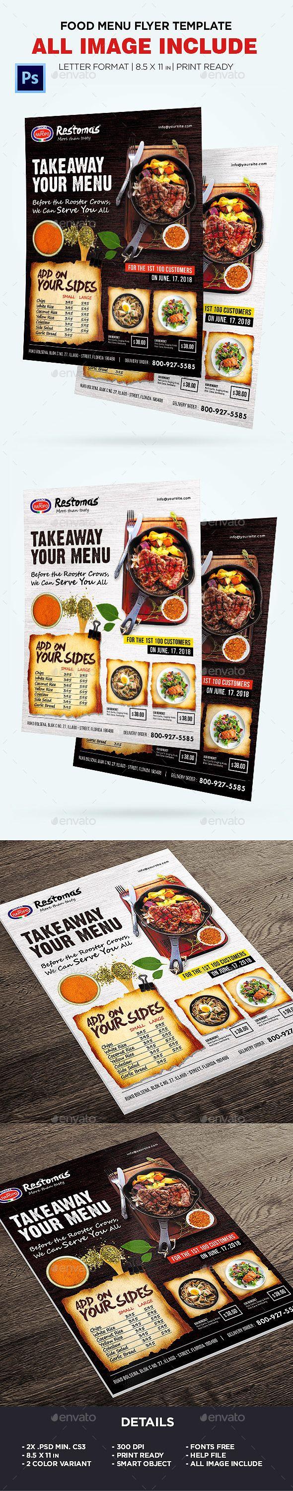 food menu restaurant menu flyer photoshop psd pizza menu elegant