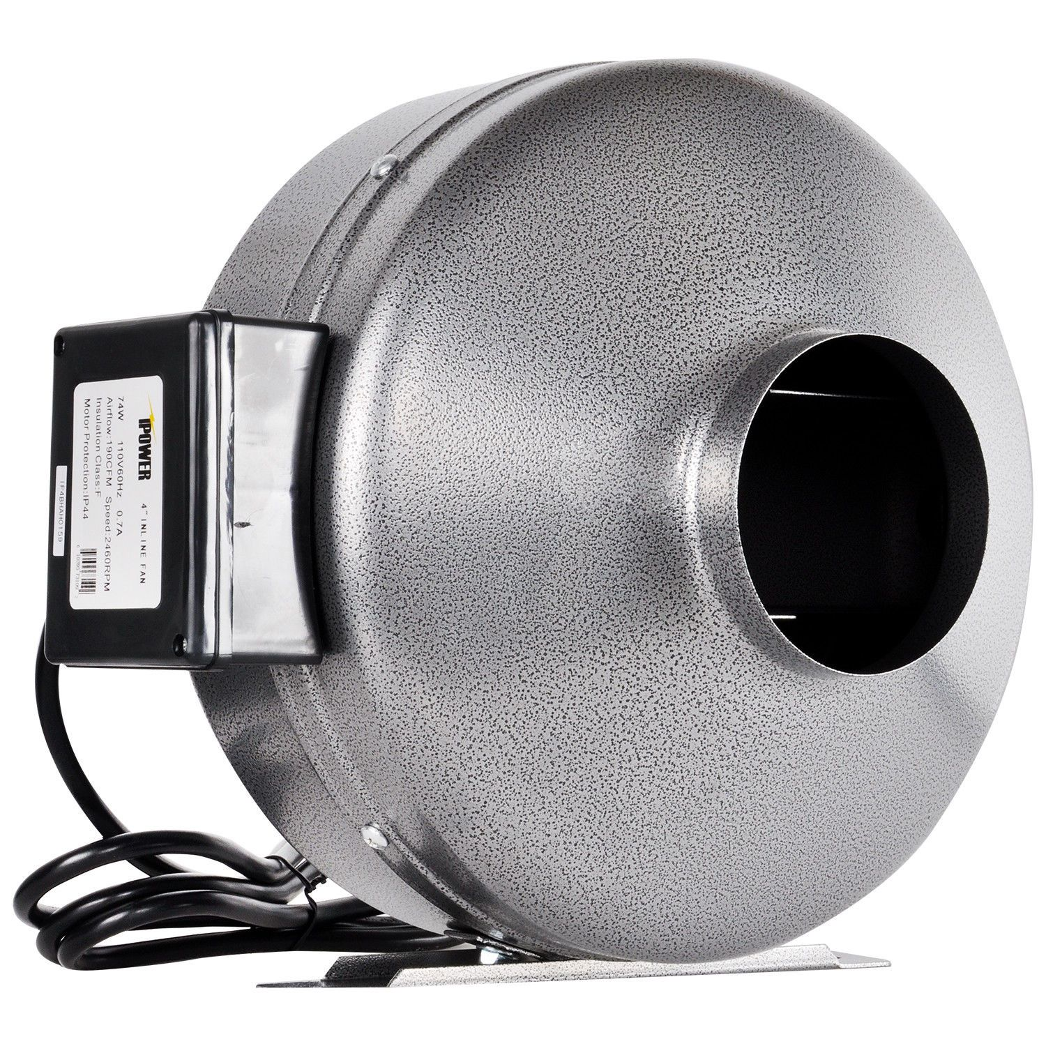 "iPower 4"" 6"" 8"" 10"" 12"" Inch Inline Duct Fan Exhaust ..."