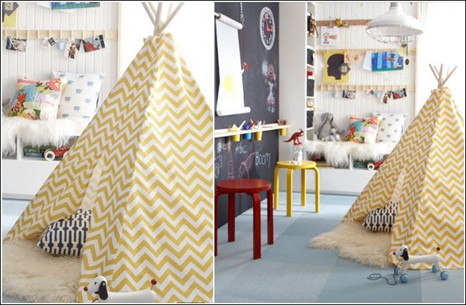 Decorate Your Child's Room or Playroom with a Teepee!
