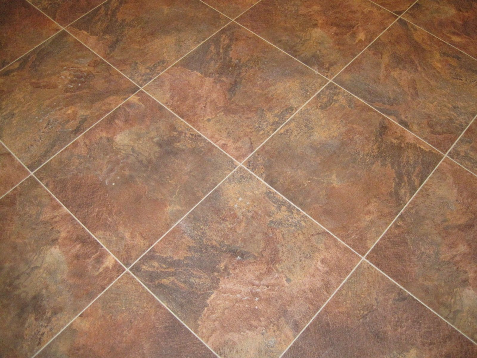 Pictures Of Tile Floors | The Kitchen Flooring, Large Vinyl Tiles With  Stone Powder Embedded