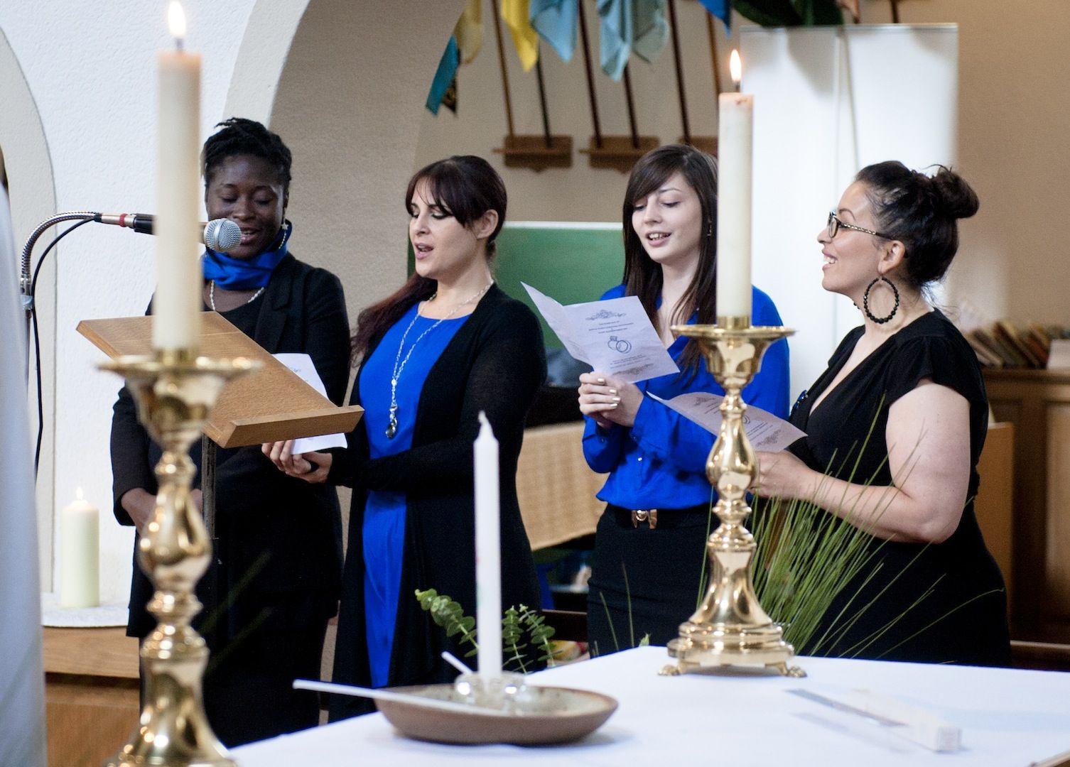 A Gospel Choir For Hire Transforms Church Weddings