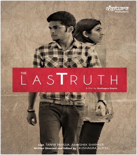 """ITM University witnessed the premiere of a short film titled """"The Last Truth"""" on 23rd April 2015 in the University's Auditorium. Kapture Productions first ever short film was successful in grabbing quite a lot of attention with more than 15 faculties and 60+ ITMU students as attendees at the premiere.  For those who missed out on the premiere, the movie is now LIVE on Youtube, please watch, com-ment, share and like: https://www.youtube.com/watch?v=cgDMdwaatrI Please share your reviews."""