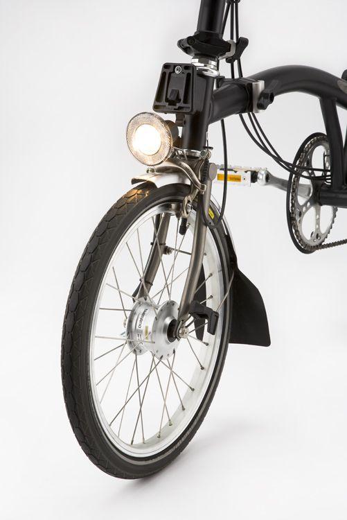 shimano hub dynamo lighting on brompton & Shimano Hub Dynamo lighting for Brompton | Foldable Bikes ... azcodes.com