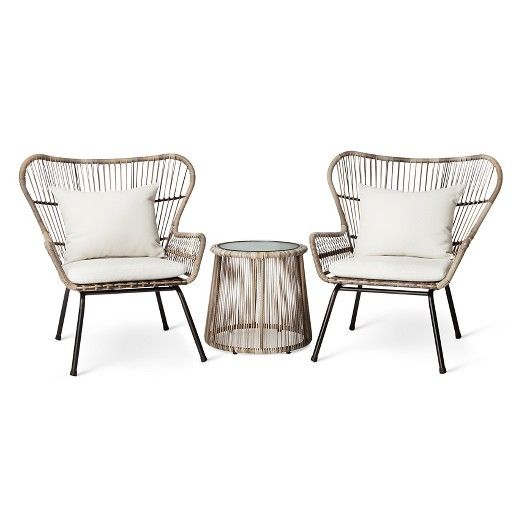 another option for a set for down the road latigo rattan patio chat set threshold target