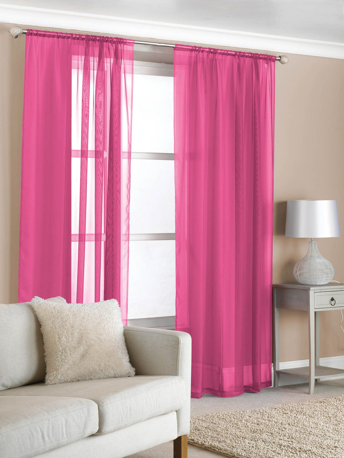 from only: £4.30 | livingroom | Pink bedroom curtains, Girls ...