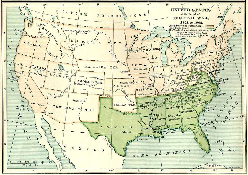 The United States During the Civil - Dakota territory | North Dakota ...