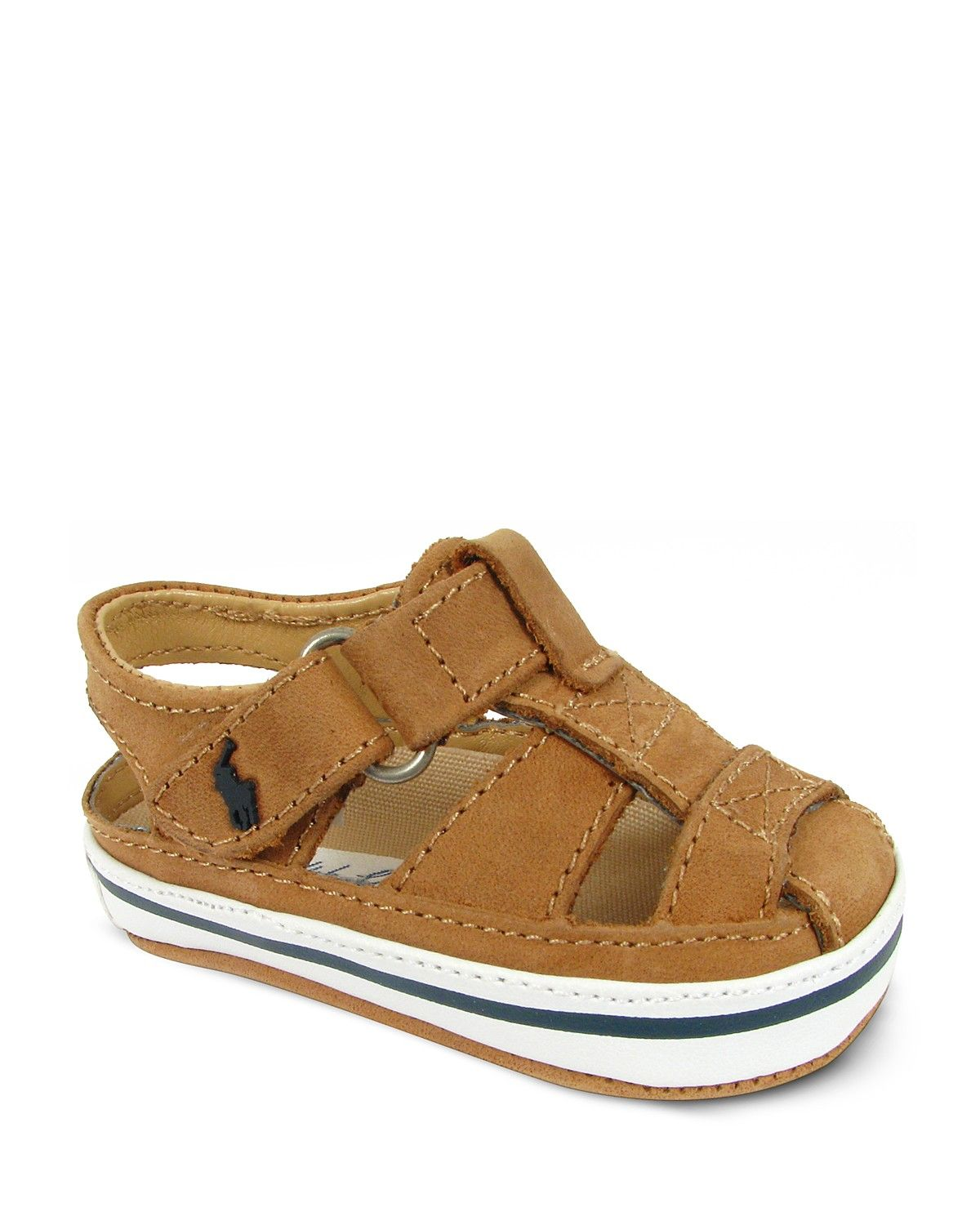 732572fe044121 Ralph Lauren Childrenswear Infant Boys' Sander Fisherman Tan Leather Sandals  - Sizes 1-4 Infant | Bloomingdale's...might be too late for these, ...