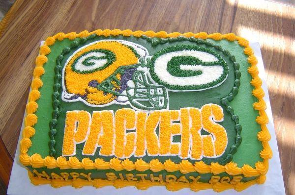 Fine Grooms Cake Ideas Greenbay Packers Green Bay Packers Birthday Personalised Birthday Cards Veneteletsinfo