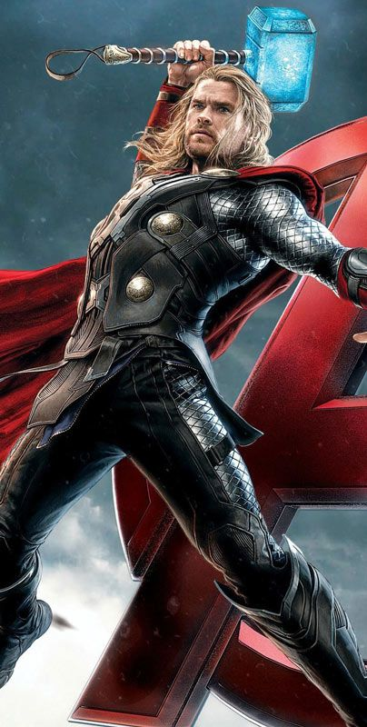 Movie Wallpapers Hd And Widescreen Avengers Thor Wallpaper Http Www Fabuloussavers Com Avengers Thor Wallpapers Freec Thor Wallpaper Thor Comic Marvel Thor