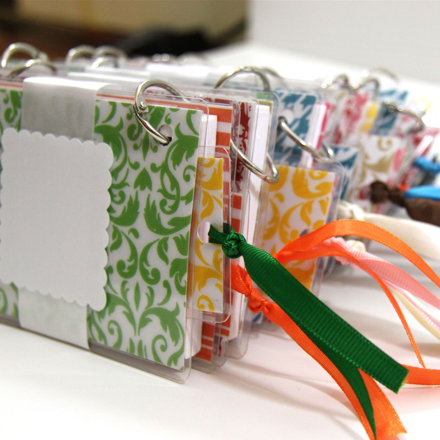 A Little Set Of Notecard Binders From My Etsy Shop