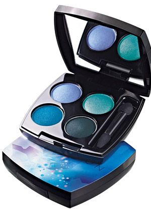 Avon Arctic Goddess Holiday 2012 Collection - I love this, wish I could get away with wearing these gorgeous colors!