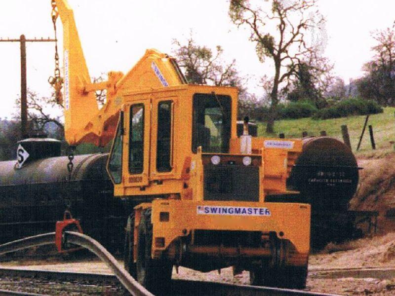 New Swingmaster 361 HiRail Speedswing 20,000 lb lift