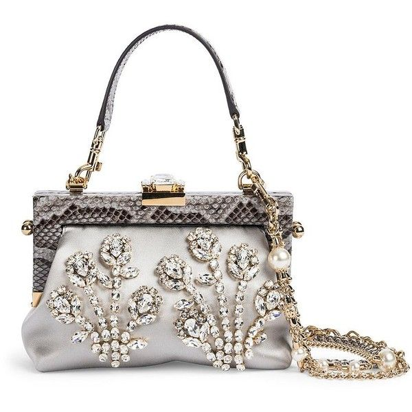 af8d1a7f22 Dolce   Gabbana Embellished Evening Bag (6