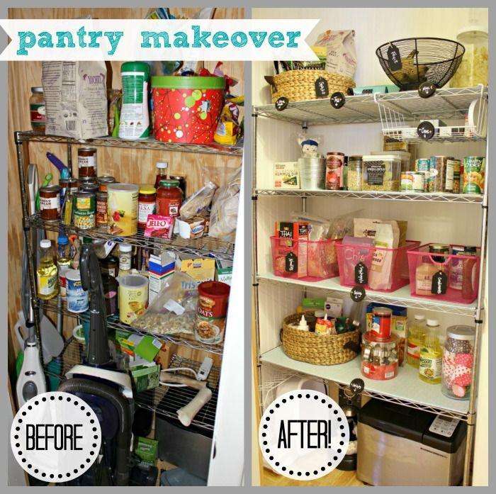 Dirty Little Secret Friday Pantry Organization Kitchen