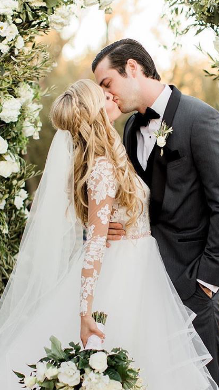 hair from the knot | dream wedding in 2019 | wedding dresses