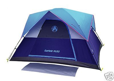Gigatent Garfield MT 80 sq ft Family Dome Tent Sleeps 5-6 Person Man Tent  sc 1 st  Pinterest : 5 6 man tents - memphite.com