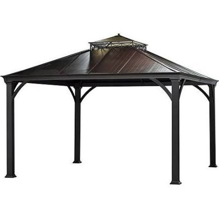 10 X 12 Gazebo Google Search Hardtop Gazebo Patio Gazebo Aluminum Gazebo