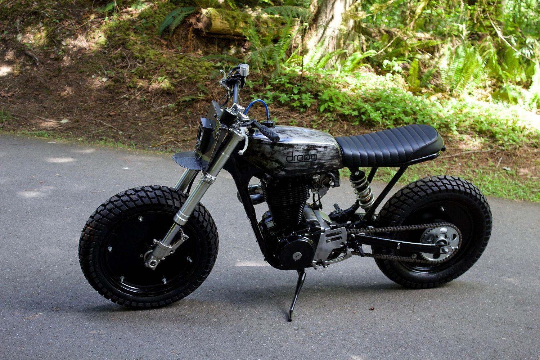 Scrambler, Suzuki, Bike