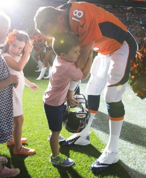 Peyton Manning Being A Dad Marshall Mosley Manning Peyton