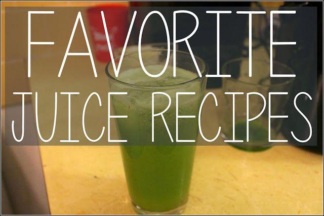 Favorite Juice Recipes