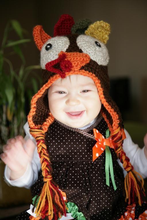Thanksgiving hat - crochet pattern coming soon! Lyudochka7 on Craftsy | Crocheting Ideas