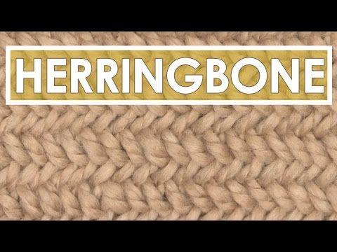 Video Tutorial Herringbone Knit Stitch Pattern By Studio Knit On