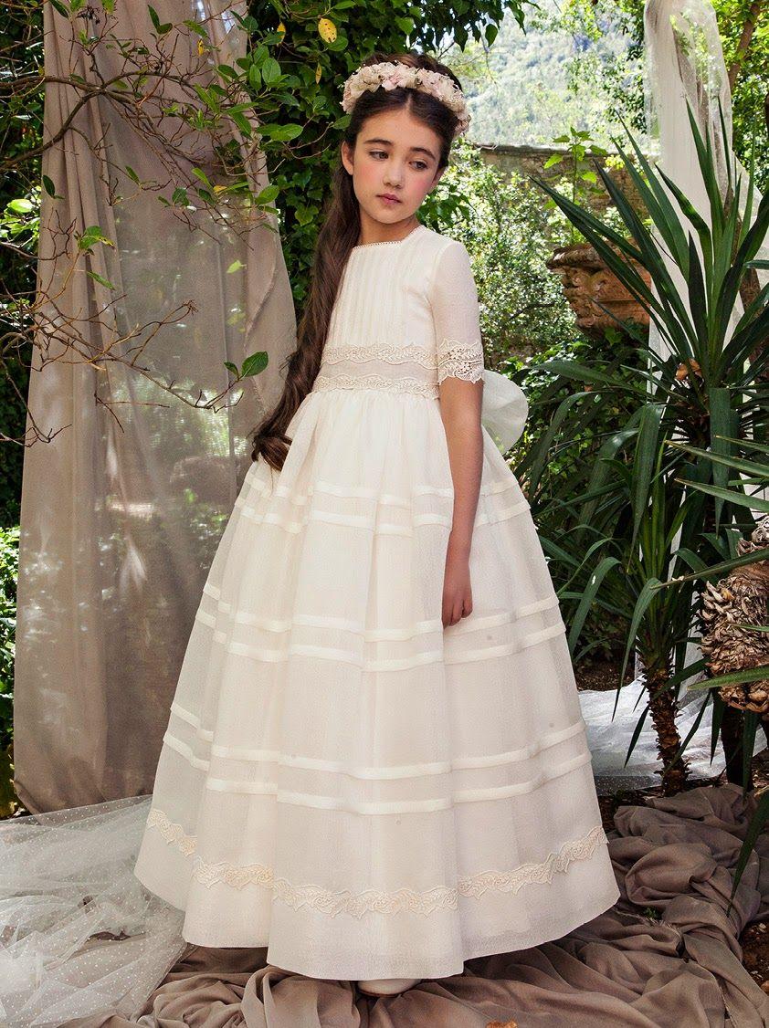 Vestido comunion barcarola 2015 ya en sacha moda infantil