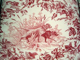This Girl S Toile Tale Toile Wallpaper Red Toile Wallpaper