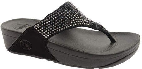 d5ac08839a13 FitFlop Women s Flare Thong Wedge Sandal