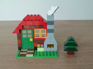 Totobricks Lego Classic 10695 How To Build A Wood Cabin Lego Cabins In The Woods Lego House