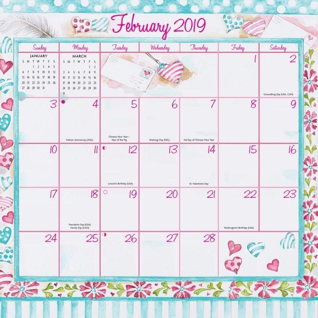 February 2019 Calendar Printable Cute Jerusalem House