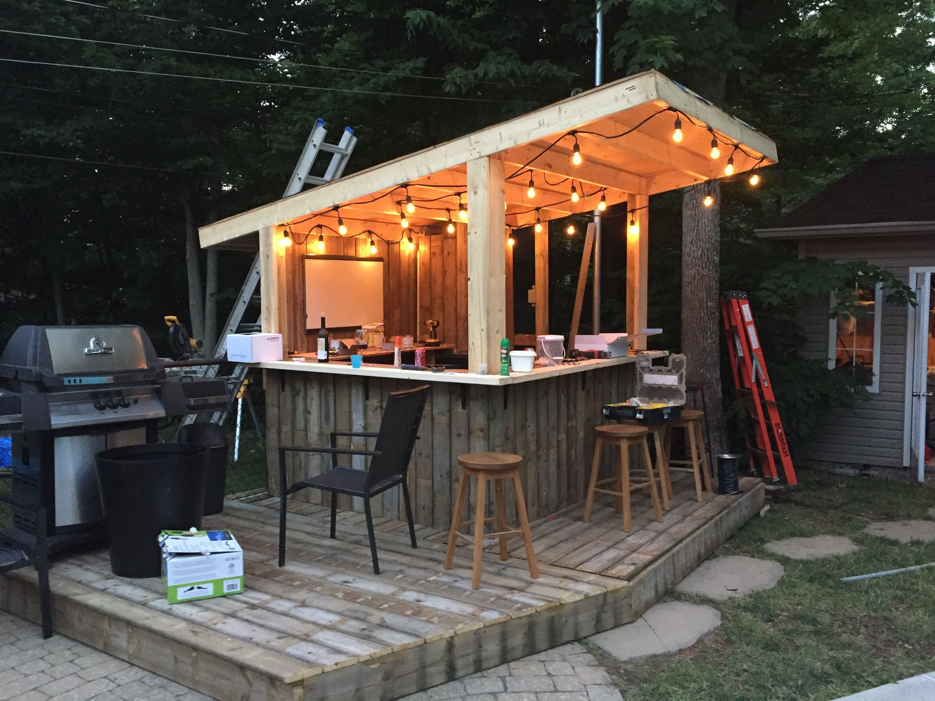 Pin By Mc Vanilla On Letna Kujna Diy Outdoor Bar Outdoor Patio