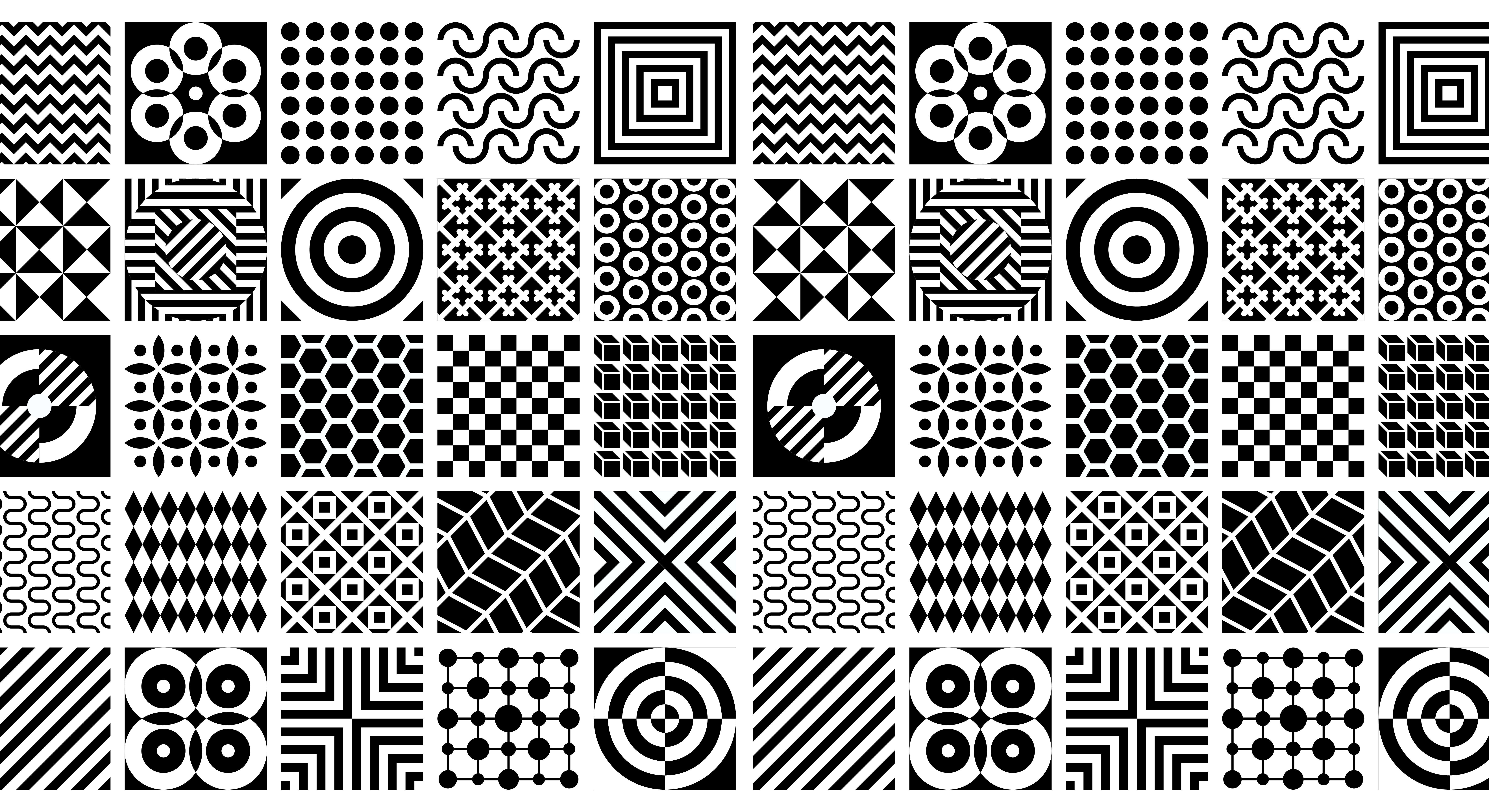 Geometric Patterns Are Extremely Versatile And Perfect For Many Different Types Of Bran Learning Graphic Design Software Design Patterns Graphic Design Trends