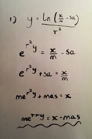 merry christmas equation